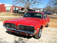 This 1968 Cougar has it's original 302 V8, 4bbl carb