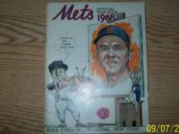 1968 Mets Offical Year Book. In Good Condition. $10.00