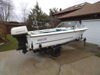 1968 MFG 15ft boat. Really strong in and out !! 85hp