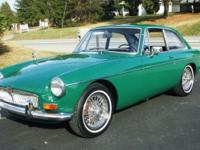 Year: 1968. Make: MGB. Design: MGB GT. Bodystyle: