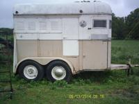 1968 Miley 2 horse trailer. It's bumper pull hitch.