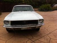 I have a 68 mustang for sale. It's a little job but