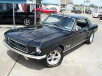 A REALLY NICE 68 MUSTANG COUPE,302 V-8 (MODERN 5.0