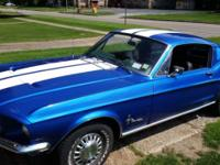 We have a 1968 mustang fastback c code California built