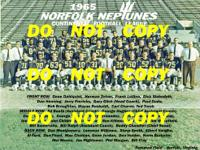 1968 Norfolk Neptunes Football Team Picture Complete
