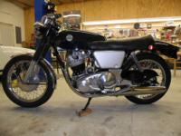 1968 Norton Commando 750 Fastback. The engine,