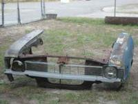 I HAVE A 1968 NOVA FRONT CLIP FOR SALE IN GOOD SHAPE