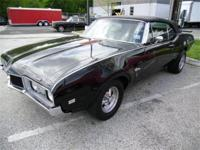 Just arrived 1968 Cutlass Convertible with 442 Trim all