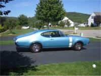 For Sale. 1968 Oldsmobile 442. The car has front disc