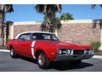 1968 Oldsmobile Cutlass S 442 Convertible. Restored to