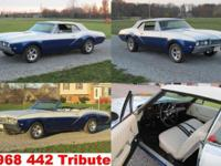 This is a 1968 Olds 442 tribute convertible, Over $6k