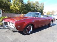 A nice convertible that has style! This Cutlass S has a