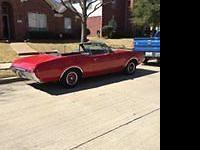 1968 Oldsmobile Cutlass Supreme Convertible (TX) -