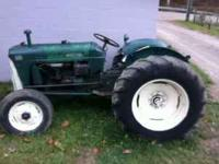 Runs Great. Power steering, 3-point hitch, live power,