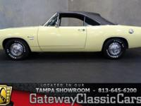 Stock #566-TPA 1968 Plymouth Barracuda  $16,995 Engine:
