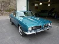 This Aqua Blue Barracuda is in good condition. It was