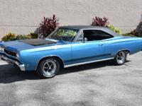 1968 Plymouth GTX powered by the legendary and numbers