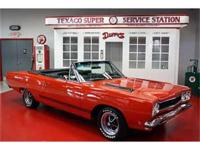 THIS ONE IS LESS THAN 200 EVER BUILT 1968 Plymouth GTX