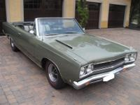 1968 Plymouth GTX Convertible: In 1968, the GTX was