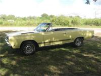 Beautiful 1968 Plymouth GTX convertible, very rare and