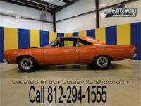 1968 Plymouth Road Runner Hemi. This is the real deal,