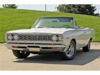 Somehow, this 1969 Plymouth Satellite Convertible