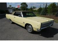 A great Plymouth Sport Fury convertible that would