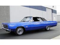 1968 PLYMOUTH SPORT FURY CONVERTIBLE FACTORY 4 SPEED