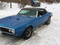 1968 Firebird 400 4sp. All numbers match,including