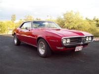 This is a nice 1968 Pontiac Firebird