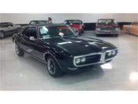1968 Pontiac Firebird. This triple black American icon