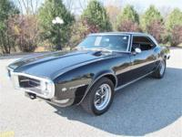 Just in is this stunning Raven Black 1968 Pontiac