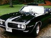 Make:  Pontiac Model:  Firebird Year: