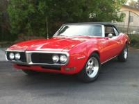 1968 Pontiac Firebird exchangeable, NO RUST,