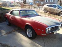 1968 Pontiac Firebird 2DR HT ..Project ..Original