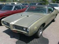 This is a Pontiac, GTO for sale by Beebe's Motors. The