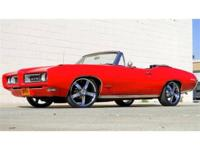 Pro-Touring style real 242 vin Pontiac GTO convertible.