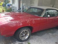 Look out muscle car enthusiasts! This 1968 Pontiac GTO