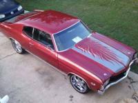 1968 Pontiac GTO High Performance Rebuilt V8 engine