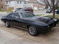 1968 Pontiac GTO - Numbers Matching Car. Engine is a