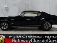 Stock #43-FTL  1968 Pontiac GTO $33,995 Engine:400 CID