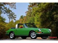 This 1968 Porsche 911 Targa . It is equipped with a