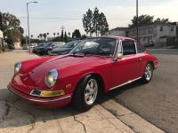 1968 Porsche 911 Coupe. Vehicle has been well