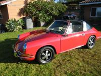 1968 PORSCHE 912 TARGA. COMES WITH ORIGINAL NUMBERS