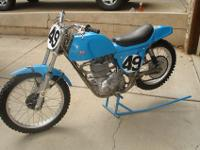 1968 Rickman BSA B44R weslake conversion, originally a