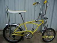 1968 Schwinn Lemon Peeler. 1st year offered by Schwinn.