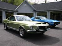 1968 Shelby Cobra GT350 Fastback Lime Green All
