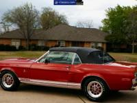 1968 Shelby GT500-KR Convertible, Shelby 3854 - FACTORY