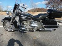 Shovelhead in initial, running, riding condition. Bike