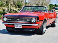 1968 Camaro SS Memorial Convertible. No specific has